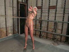 Dominant Redhead Ties Up and Plays..