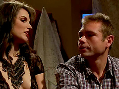 Bobbi Starr pinches John Jammen and..