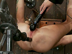 Rain DeGrey gets her ass pounded with..
