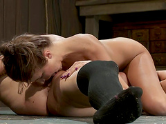 Alicia Stone and Isis Love enjoy..
