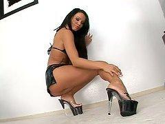 Hot Black Panther Christina Bella..
