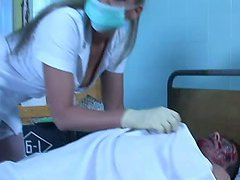 Crazy Clinic Threesome with Katy..