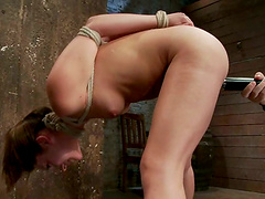 Throat Fucking and Pussy Toying in..