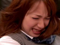 Ayaka Tomoda the hot babe in school..