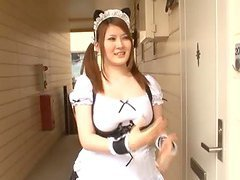 Momoka Nishina is a smoking hot maid..