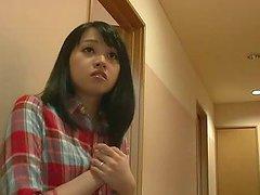 Sex addicted Nozomi Aiuchi gets her..