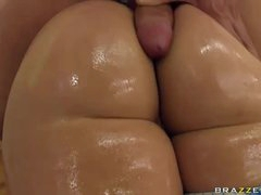 Workout couple has anal sex