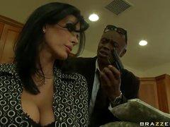 Black man fucks slutty wife