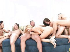 At this fucking orgy babes love..