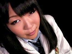 Saya Takazawa gets her Asian cunt..
