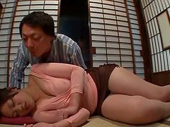 Bosomy Japanese milf Yuki Saegusa gets..