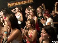 Fucking horny party girls hard