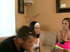 Two Couples Play Truth Or Dare & Share..