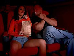 Sonja Gets Down & Dirty At the Cinema..