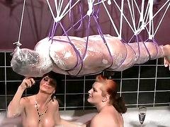 Extreme femdom BDSM with sub guys