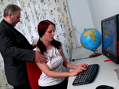 Fantastic Teen Gets Fucked Hard By A..