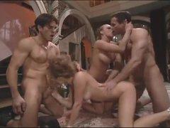 Jenna Jameson in group sex