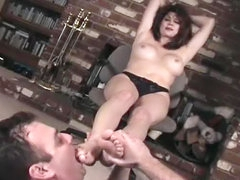 Trampling and toe sucking is sexy