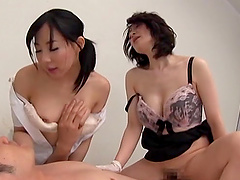 Sexy Japanese Mature Chicks in Kinky..
