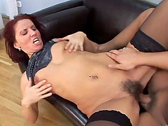 Sexy MILF Gets Her Hairy Wet Pussy..