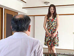 Japanese wife gets her coochie licked..