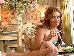 Alexis Texas and Bailey Brooks enjoy..