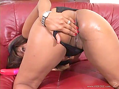 A Sexy, Ebony-Skinned Woman With..