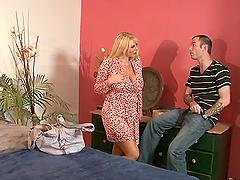 Karen Fisher the busty MILF gets..