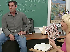 Peter North fucks sexy teacher Tessa..