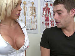 Delightful Xander Corvus And Nina Elle..