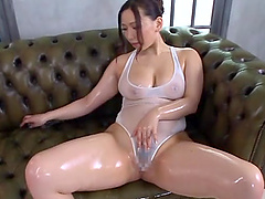 Steamy Sayuki Kanno Masturbates In A..