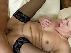 Old young hardcore with mature slut