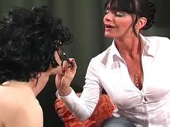 Carmen is an abusive femdom goddess