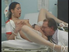 Nurse needs dick and gets it deep