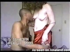 He films wife taking black cock