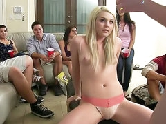 College party girl laid lustily
