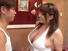 Sizzling hot Japanese goddess Mizuki..