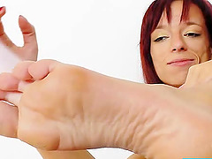 Sexy Redhead MILF With A Nasty Foot..