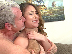 Bliss Dulce gets her Asian pussy..