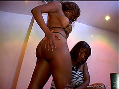 Ayana Angel and Carmen Hayes get their..