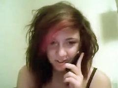 Phone sex girl on webcam