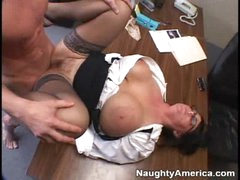 An office hardcore porno fuck