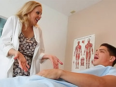 Outstanding Julia Ann is a truly horny doctor
