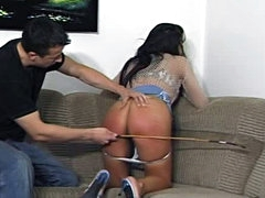 Big ass like that needs a caning