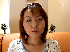 Asian milf Ai Misaki undresses and shows her hairy pussy