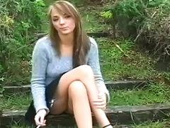 Hot looking schoolgirl loves her sexy..