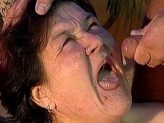Fat mature blowjob and fuck video