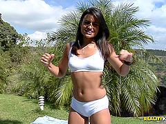 Incredibly Flexible Brazilian Babe..
