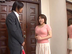 Horny Mature Asian Woman Gets Her Hot..