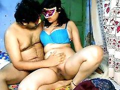 Amateur brunette Savita is banging hard